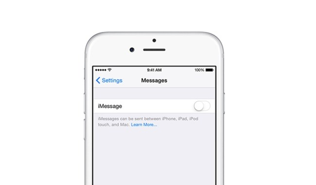 iMessage Header