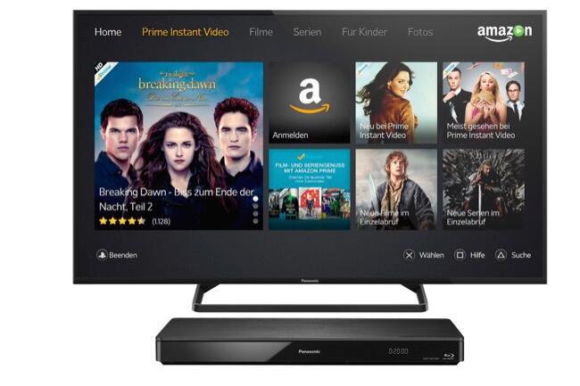 Amazon Instant Video für Panasonic VIERA TVs 2014 und ausgewählte Blu-ray Player verfügbar / Mit der Amazon Prime Instant Video-App auf tausende Filme und Serien zugreifen