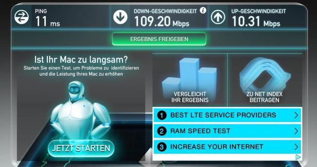 5 GHz Unitymedia direkt