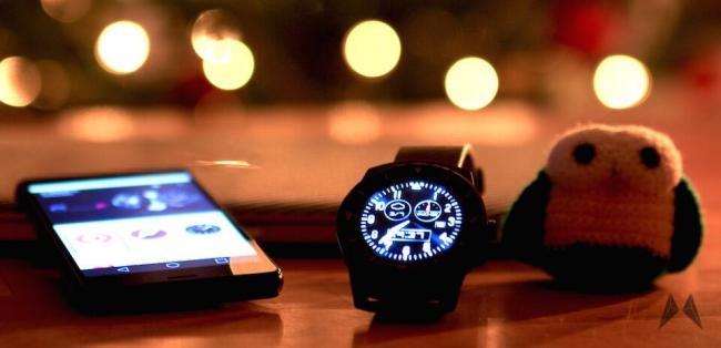Android Wear LG G Watch R Lollipop
