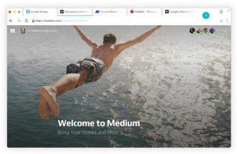Chrome OS X Matrerial-Design 02