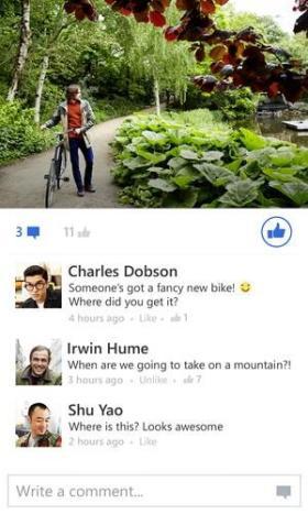 Facebook Beta Windows Phone 02