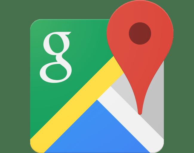 Google Maps Header Icon