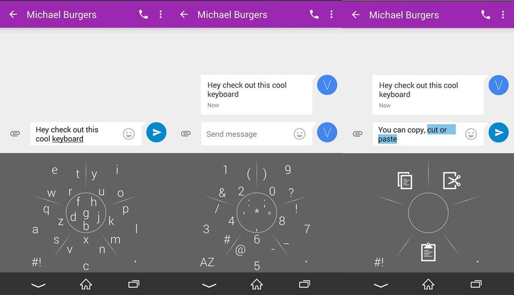 NovaKey: Neue Tastatur für Android mit interessantem Bedienkonzept