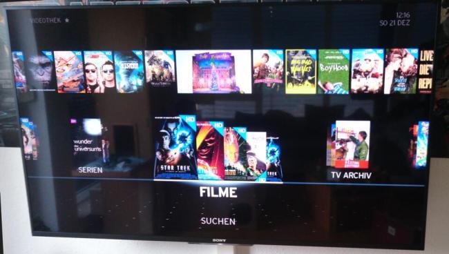 Unitymedia Horizon Videothek