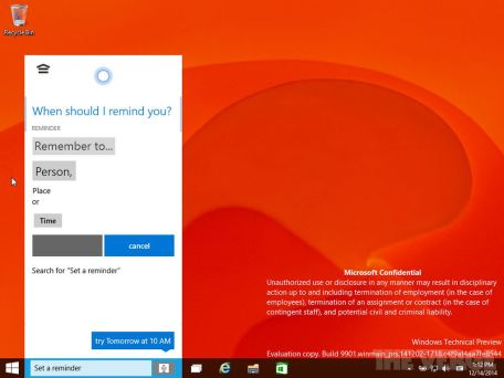Windows 10 Build 9901 01