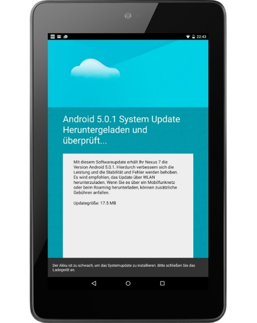 android 5.0.1 nexus update ota