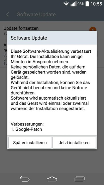 lg g3 google patch update