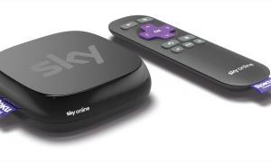Start der Sky Online TV Box - Die Streaming-Box von Sky powered by Roku