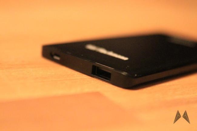 tizi Flachmann USB Anschlüsse