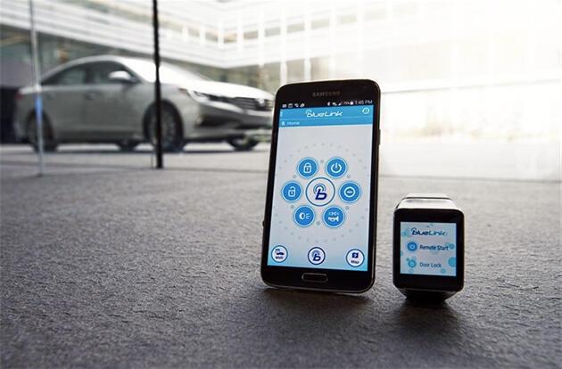 Hyundai BlueLink Android Wear