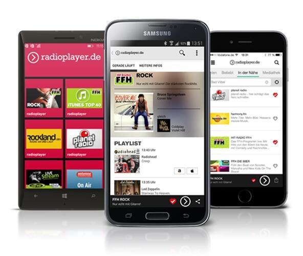 Radioplayer Apps