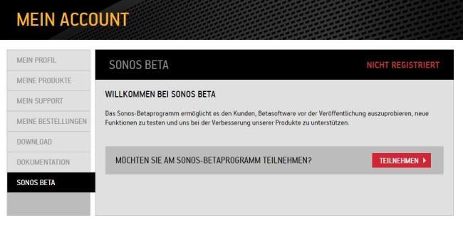 Sonos Beta