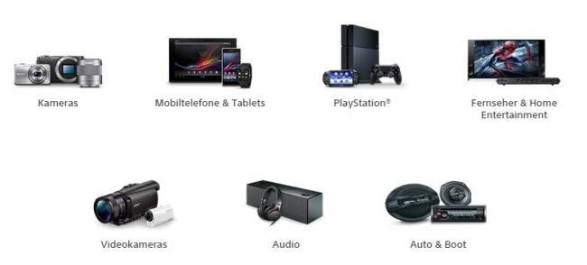 Sony Lineup