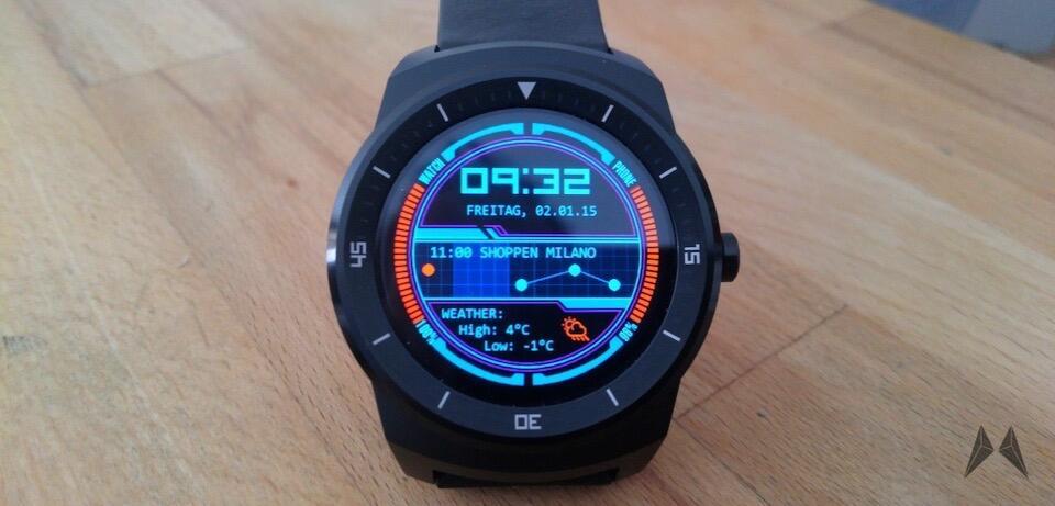 Android Wear: Nützliche Infos auf dem virtuellen Ziffernblatt mit WatchMaker