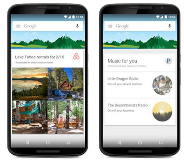 google now externe karten