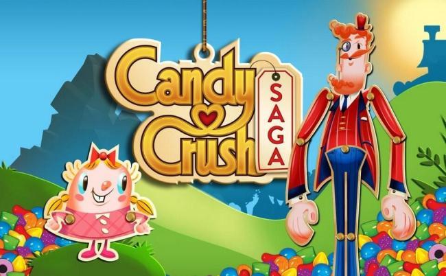 Candy Crush Saga Logo Header