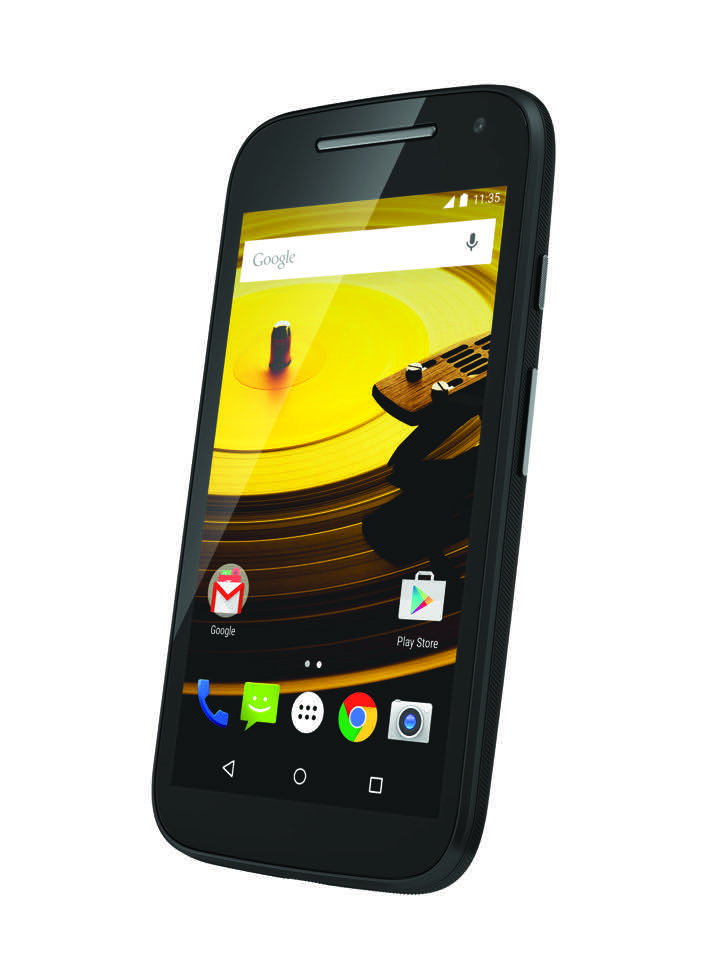 Moto E (2nd Gen.) Front Dynamic - Black