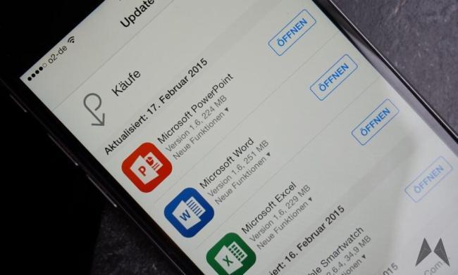 Office iOS Update Header