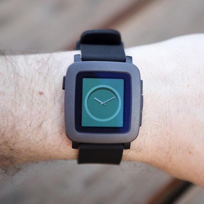 Pebble Time Arm