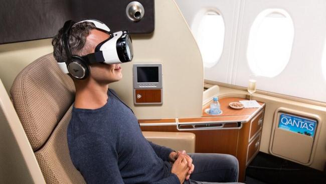 Qantas Samsung Gear VR (1)