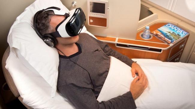 Qantas Samsung Gear VR (2)