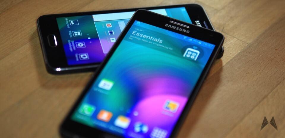 Samsung Galaxy A3 und Samsung Galaxy A5 eingetroffen