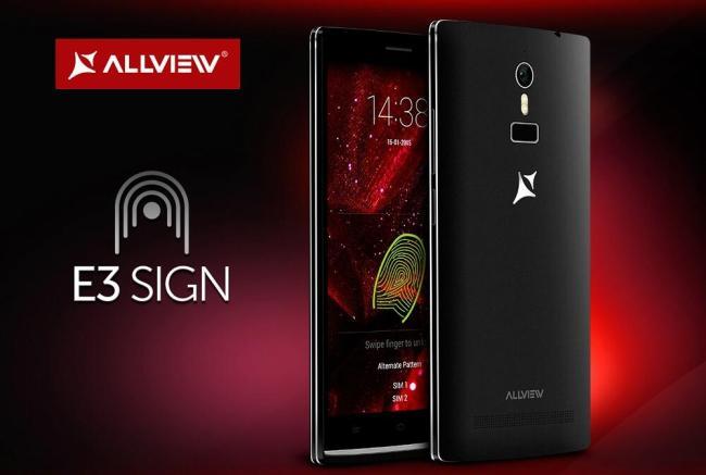 Allview E3 Sign