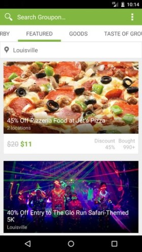 Groupon Android Material Design 02