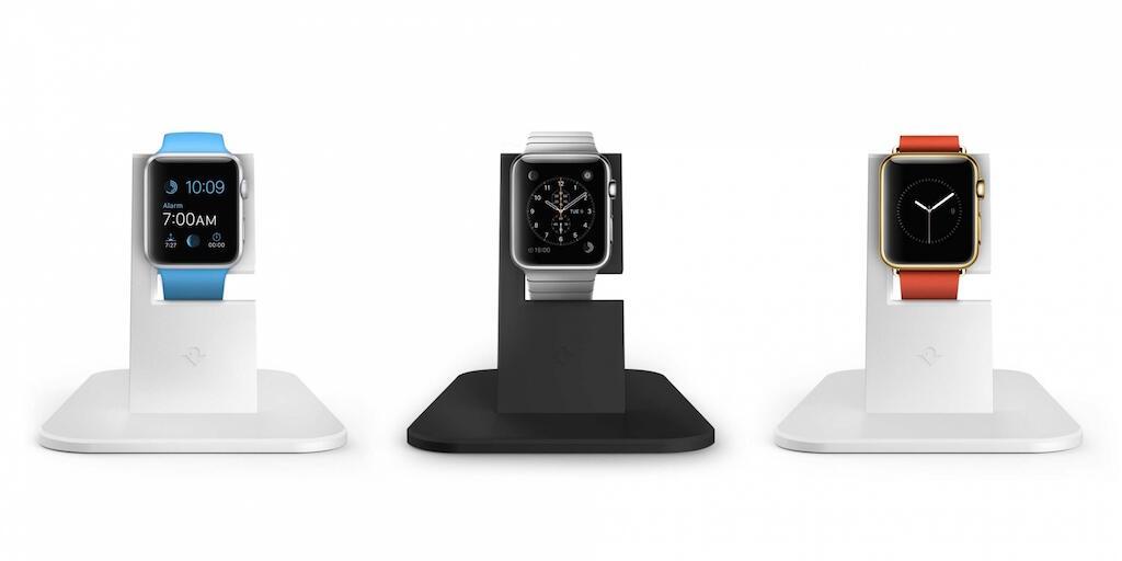 HiRise von Twelve South: Hübsches Dock für die Apple Watch