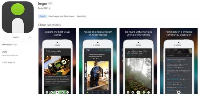 Imgur App Store