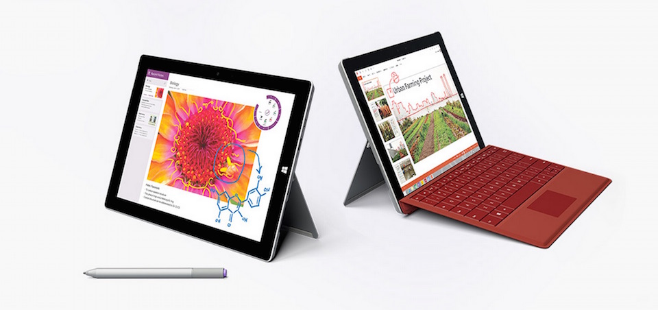 Msft Surface 3 Header