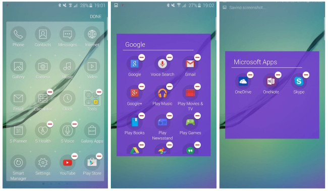 S6 Apps entfernen