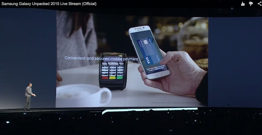 Samsung Pay: Mobiles Bezahlsystem offiziell angekündigt