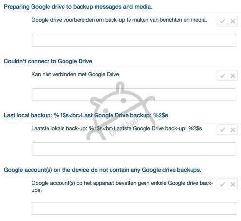google drive whatsapp