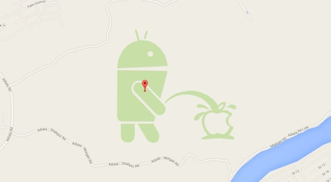 Android Apple Maps