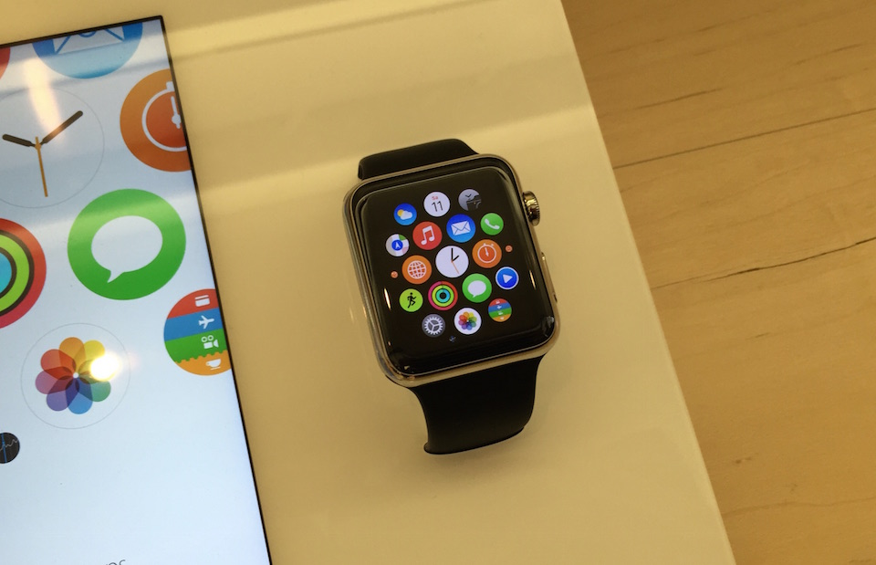 Apple Watch Menü