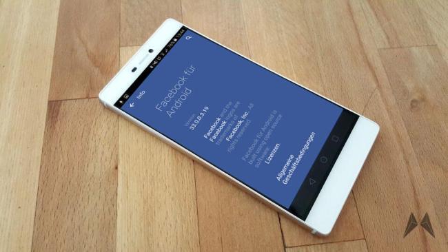 Huawei P8 Facebook