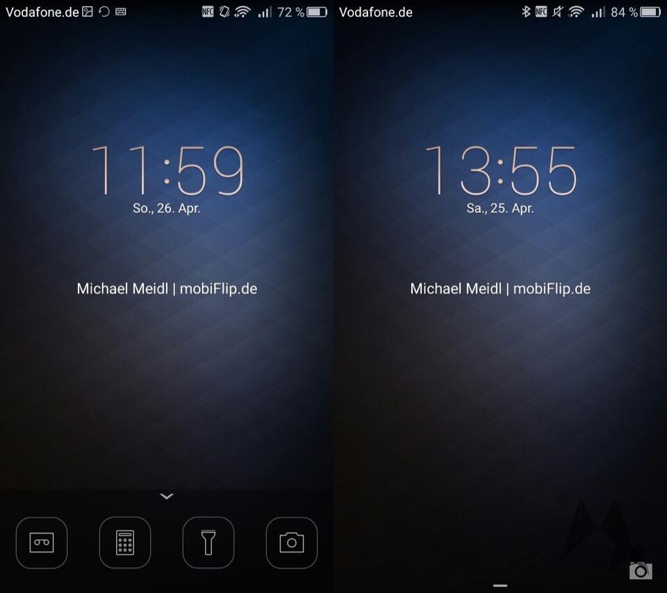 Huawei P8 Lockscreen