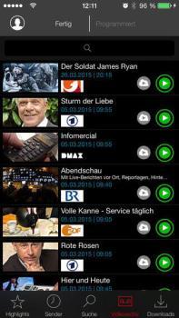 Save.TV iOS
