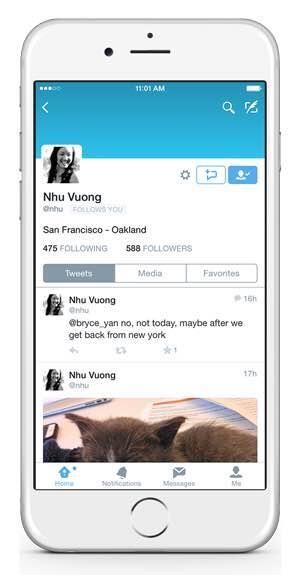 Twitter DM Profil