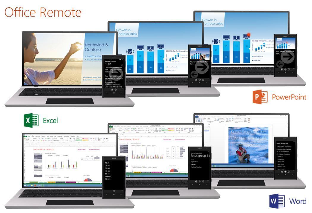 Microsoft veröffentlicht Office Remote für Android