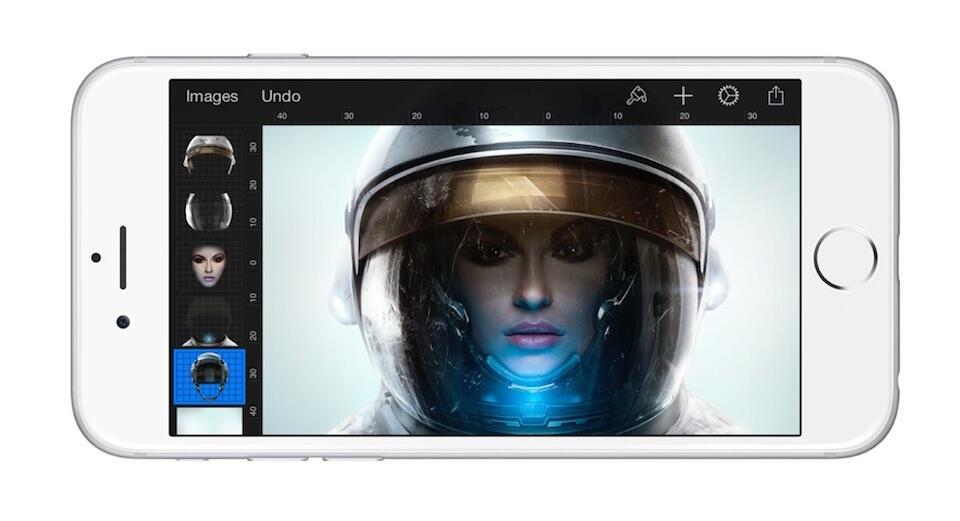 Pixelmator iPhone Header