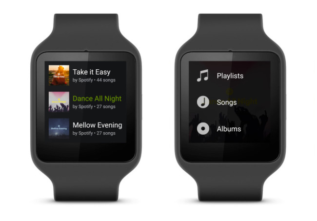spotify android wear