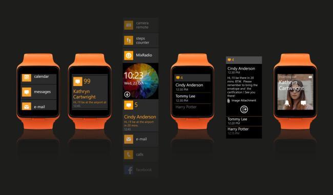 Microsoft Moonraker Smartwatch 1