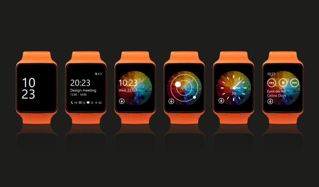 Microsoft Moonraker Smartwatch 2