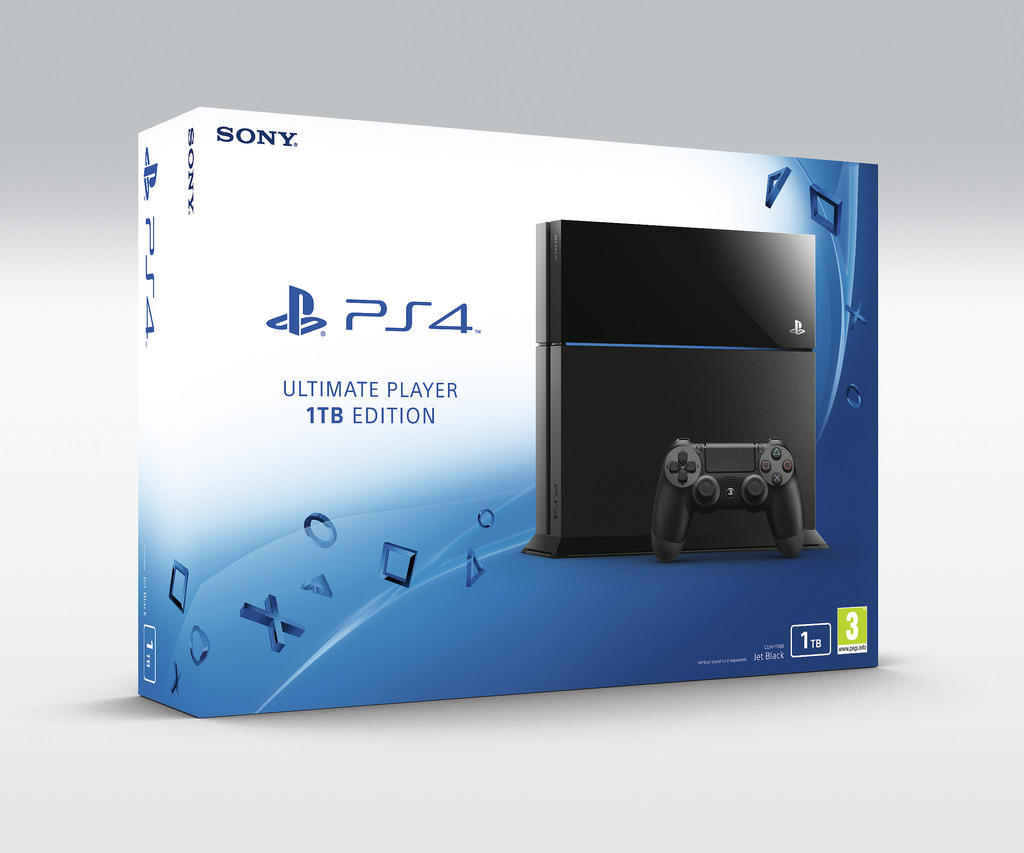 Sony PS4 UP 1TB Edition