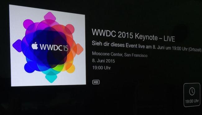 WWDC Apple TV