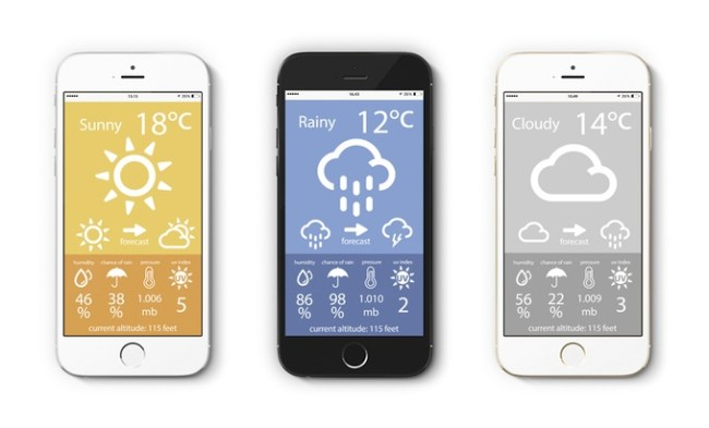 Weather Point App