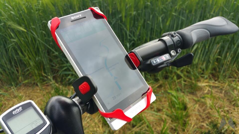 Oso Cyclomount: Fahrrad-Halterung für das Smartphone ausprobiert (+ Rabattcode)